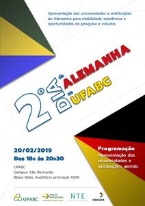 2 Dia da Alemanha na UFABC
