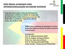 Evento USP São Carlos