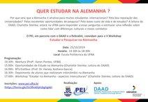 Estudar e Pesquisar na Alemanha -  PEI/UFBA